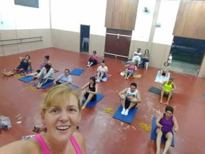 Aula de Pilates em Pindamonhangaba