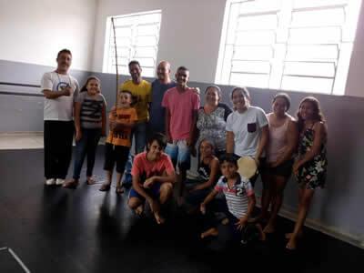 Aula de Capoeira em Suzano